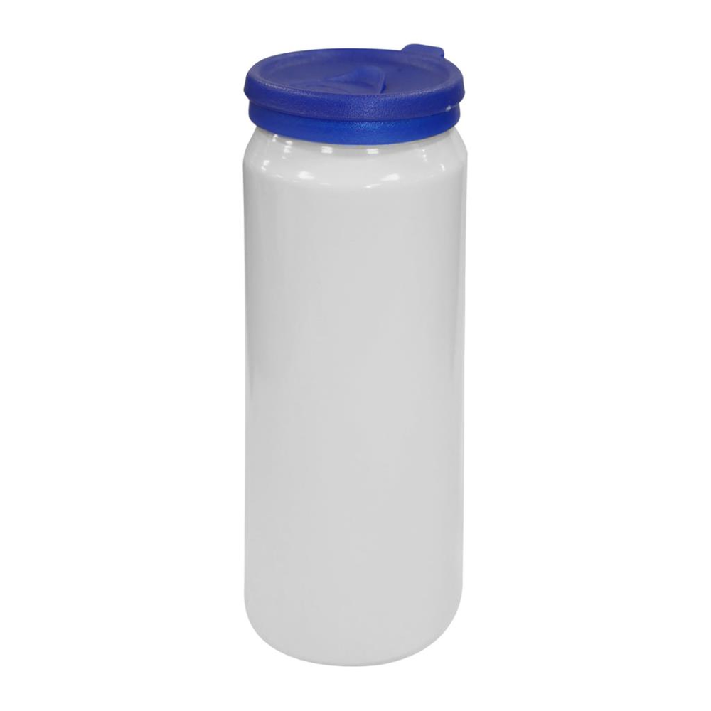 Kendal Aluminium Bottle White/Blue