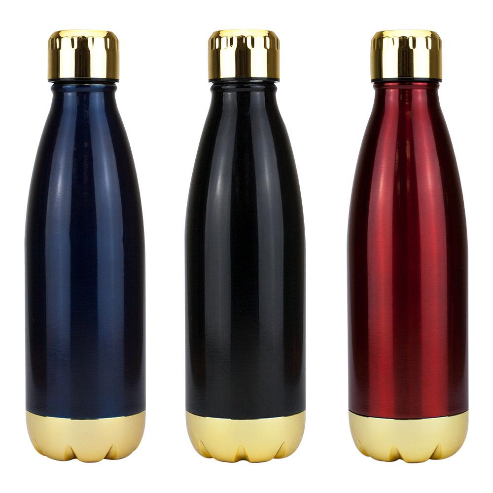 Miami Vacuum Flask - Gold Trim -
